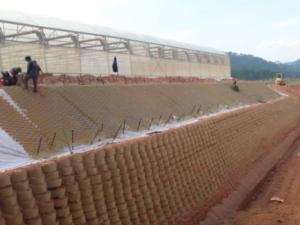 Сейсмоустойчивые подпорные стены для сайта Геокорд